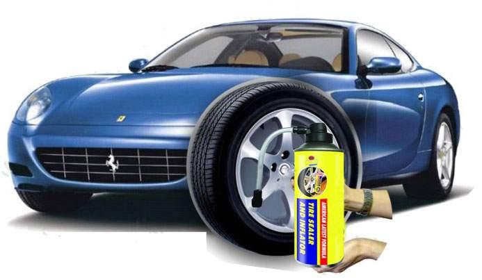 خرید اسپری پنچرگیر لاستیک خودرو